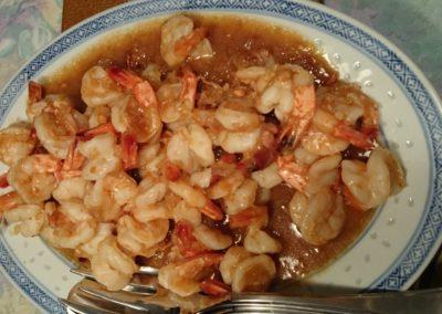 Crevetten mit Tamarinsauce